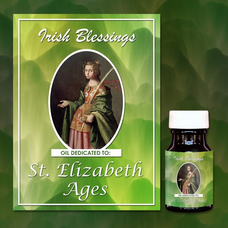 St Elizabeth Ages (virgin) healing oil