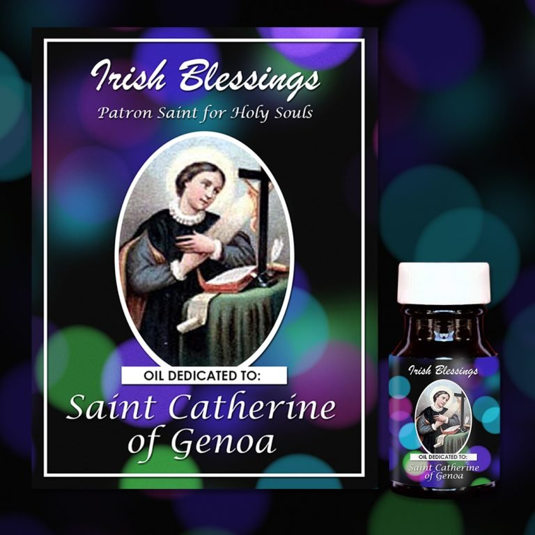St Catherine of Genoa healing oil (Holy Souls)