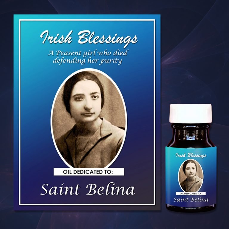 St Belina healing oil