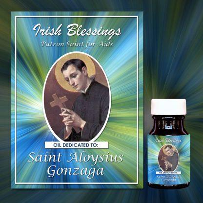 St Aloysius Gonzaga healing oil (Patron for Aids)