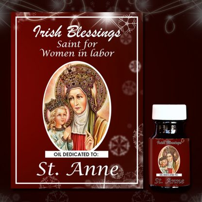 St Anne healing oil 4