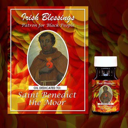 St Benedict The Moor (Incorrupt) Healing Oil