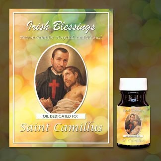 St Camillus Healing Oil (Patron For Hospitals And The Sick)