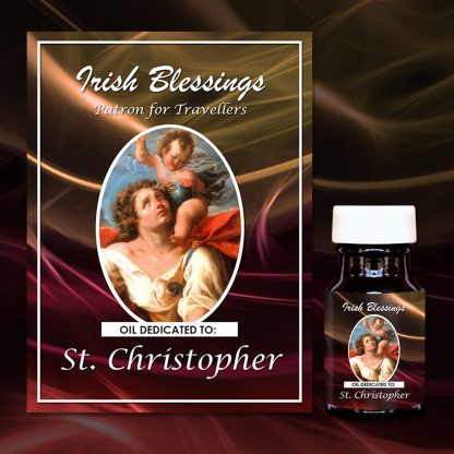 St Christopher Healing Oil (Patron Of Travellers)