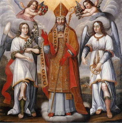 St Deodatus of Nevers