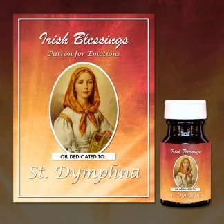 St Dymphna Healing Oil (Patron For Emotions)