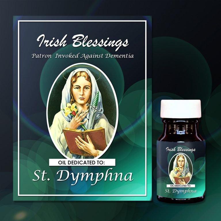 St Dymphna Healing Oil (Patron For Dementia)
