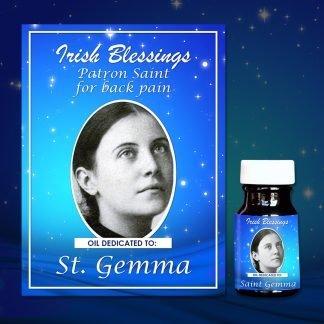 St Gemma healing oil 2