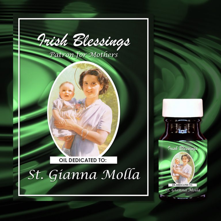 St Gianna Molla (Patron for Mothers) Healing Oil