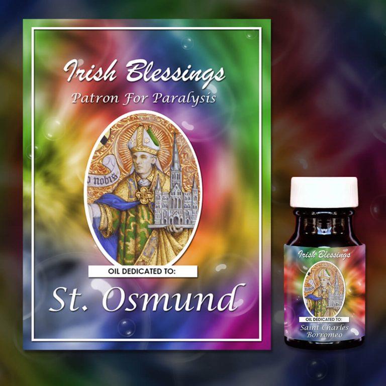 St Osmund (Patron For Paralysis)