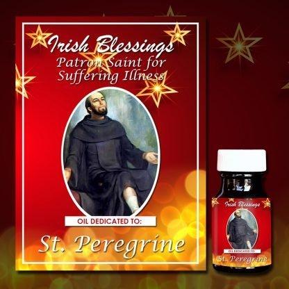 St Perrigrine healing oil 3