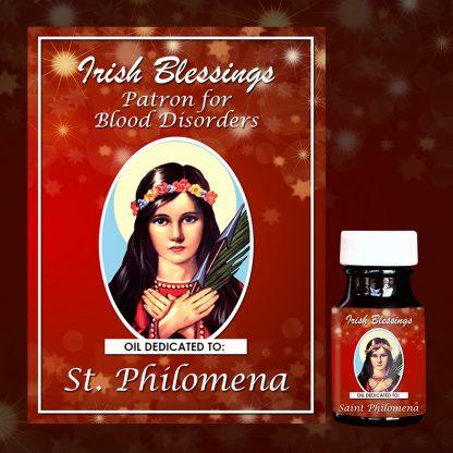 St Philomena healing oil 3