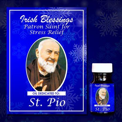 St Pio healing oil 3