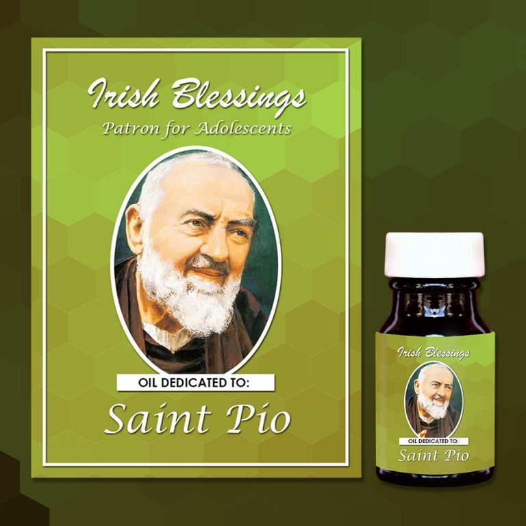 St Pio Healing Oil (Patron for Adolescents)
