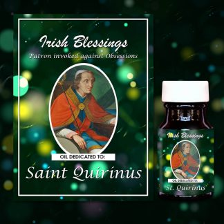 St Quirinus Of Sescia Healing Oil (Patron Invoked against Obsessions)
