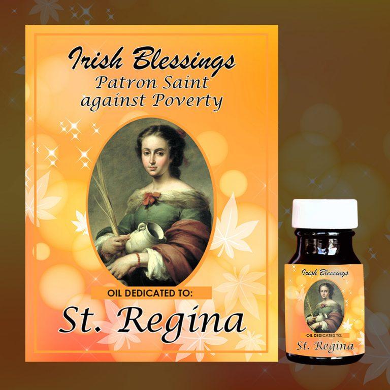 St Regina healing oil 3
