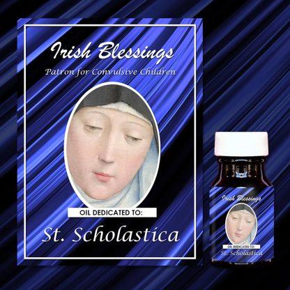 St Scholastica (Patron for Convulsive Children)