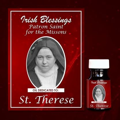 St Therese healing oil