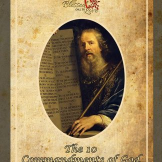 Moses and the 10 Commandments of God card - Cards | A Blessed Call To Love