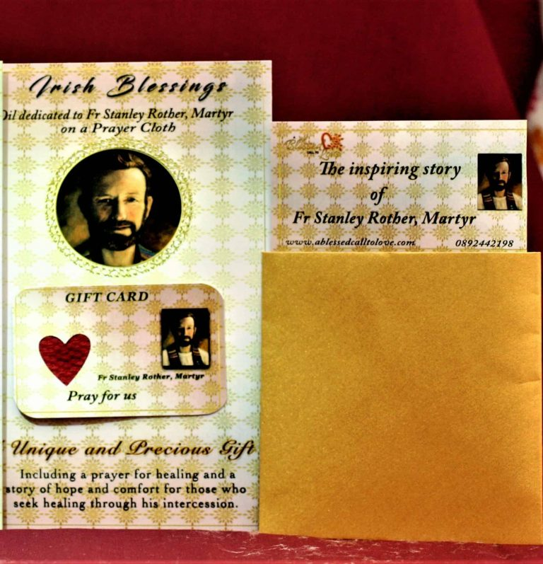 Fr Stanley Rother - Cloth | A Blessed Call To Love