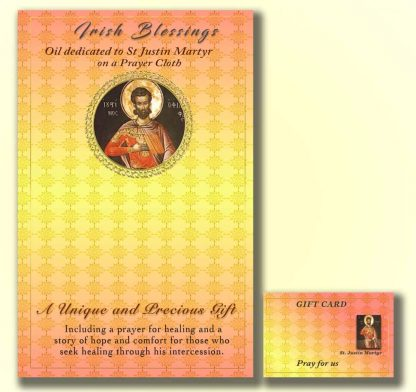 St Justin - Cloth | A Blessed Call To Love