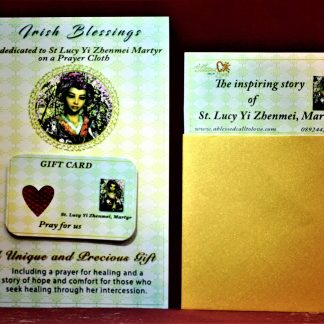 St Lucy Yi Zhenmei - Cloth | A Blessed Call To Love