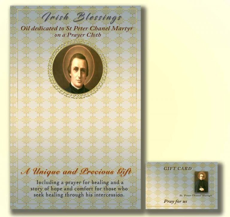 Martyr St Peter Chanel - Cloth | A Blessed Call To Love