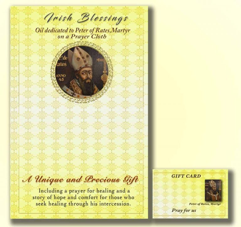 Martyr St Peter of Rates - Cloth | A Blessed Call To Love