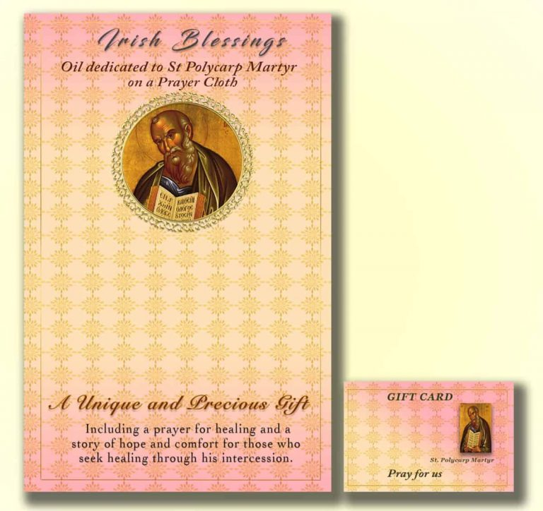 Martyr St Polycarp - Cloth | A Blessed Call To Love