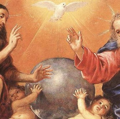 Oil dedicated to Holy Trinity - Cloth | A Blessed Call To Love