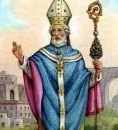 Oil dedicated to St Cathald of Taranto - Cloth | A Blessed Call To Love