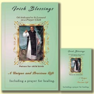 Oil dedicated to St Leonard - Cloth | A Blessed Call To Love