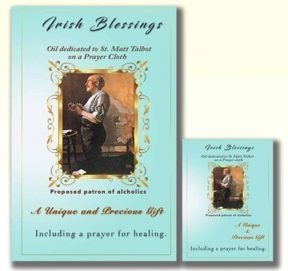 Oil dedicated to Ven Matt Talbot- Cloth | A Blessed Call To Love