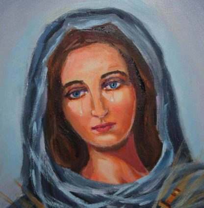 Face of Our Lady of Sorrow - Patrons | A Blessed Call To Love