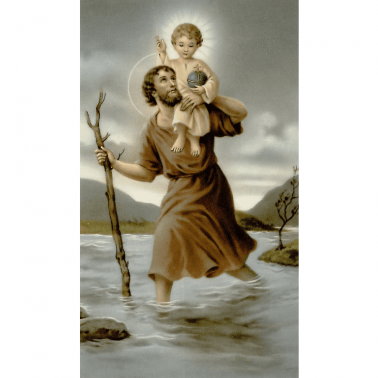 St Christopher - Patron | A Blessed Call To Love