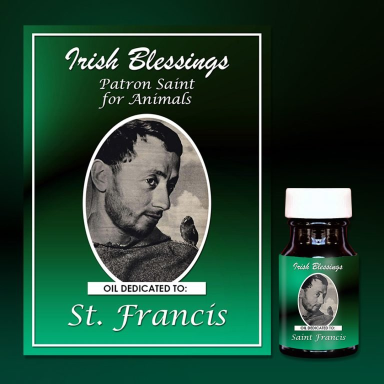 St Francis of Assisi Healing Oil (Patron for Animals)