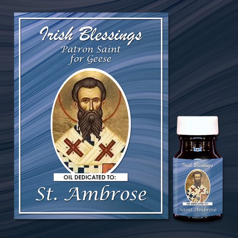 St Ambrose Healing Oil (Patron for Geese)