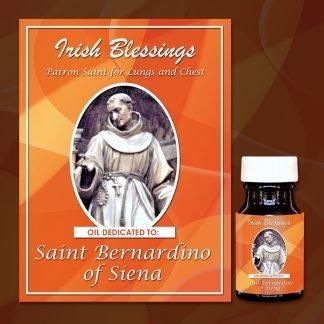 St bernardine healing oil