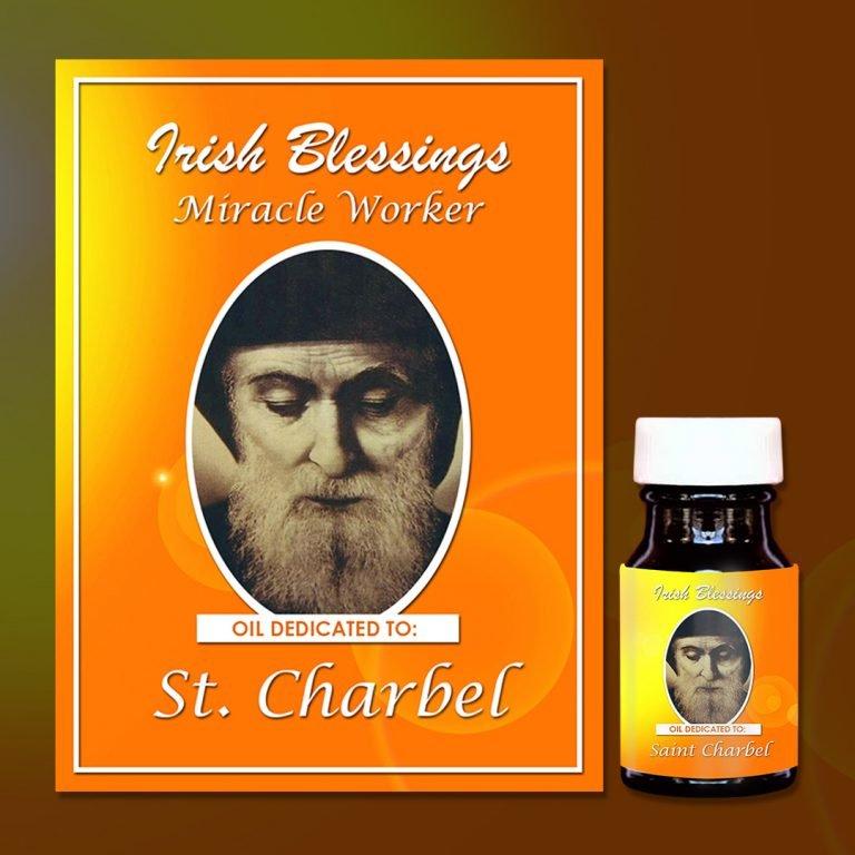 st charbel healing oil