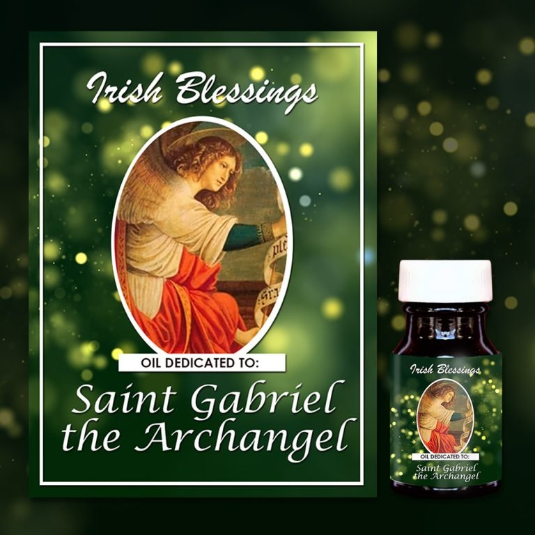 Oil dedicated to St Gabriel the Archangel