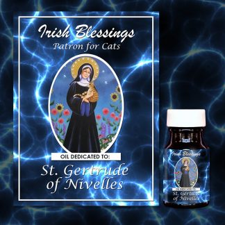 St Gertrude Of Nivelles Healing Oil (Patron For Cats)