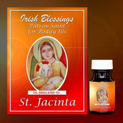St Jacinta healing oil