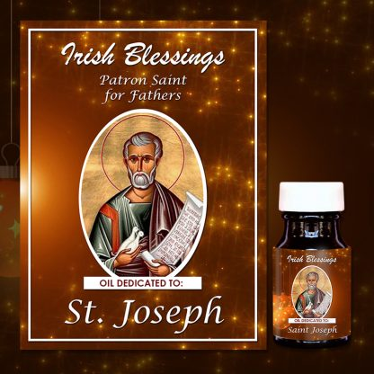 St Joseph healing oil 3