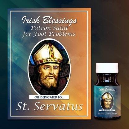 St Servatus healing oil