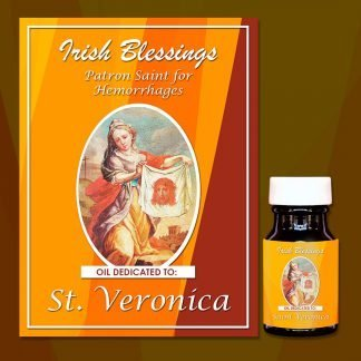 St Veronica healing oil 2
