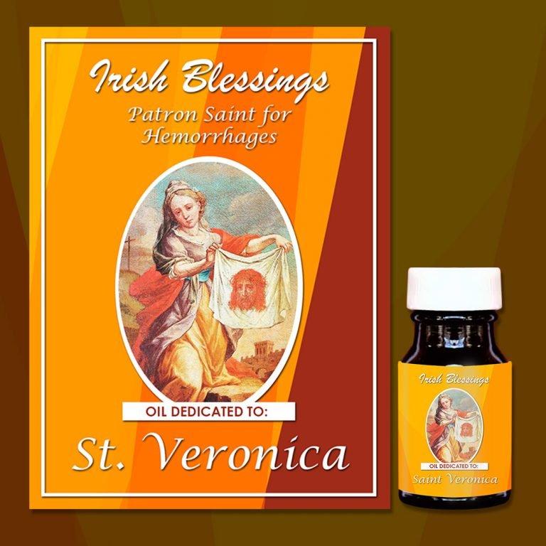 St Veronica healing oil 2