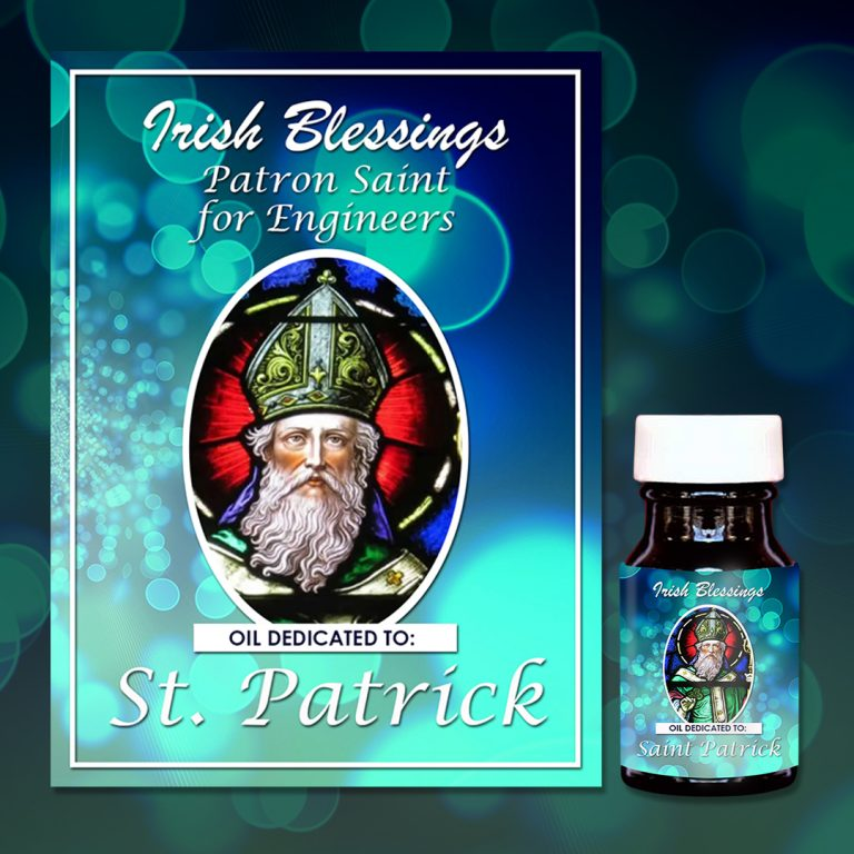 St Patrick Healing Oil (Patron for Engineers)