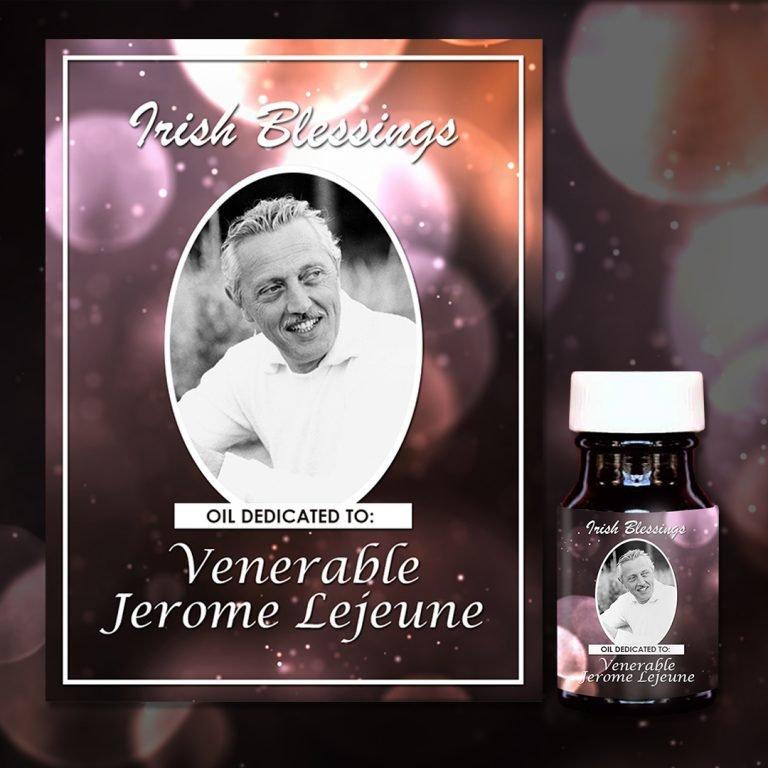 Venerable Jérôme Lejeune Healing Oil