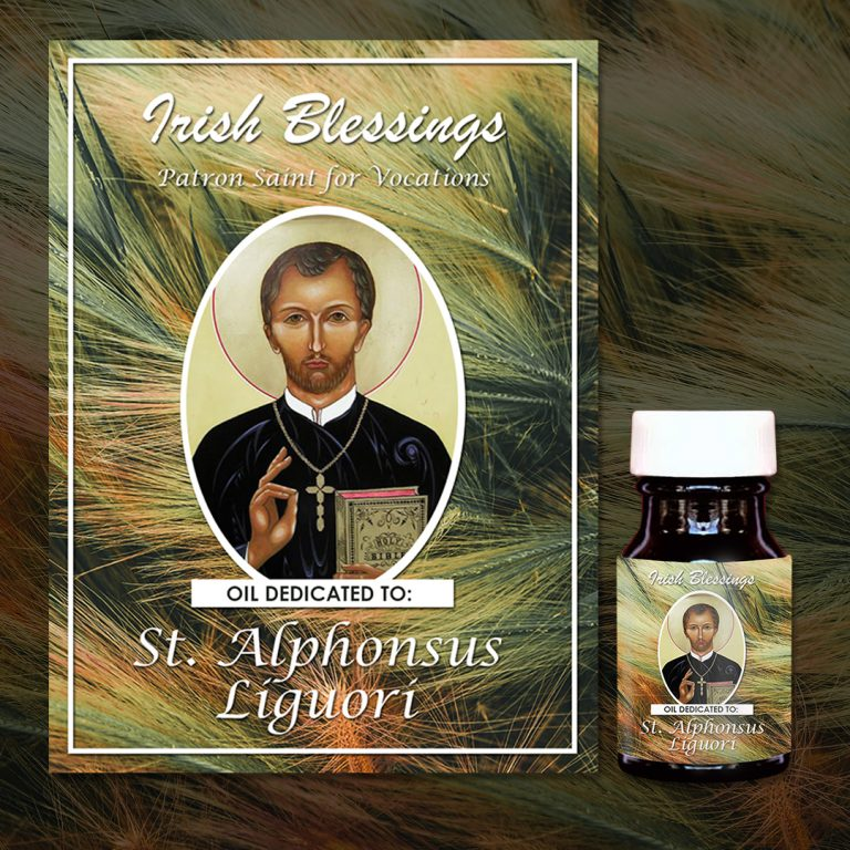 St Alphonsus Liguori healing oil (Patron Saint for Vocation)