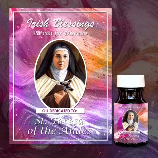 St Teresa of the Andes healing oil (Patron for Diseases)